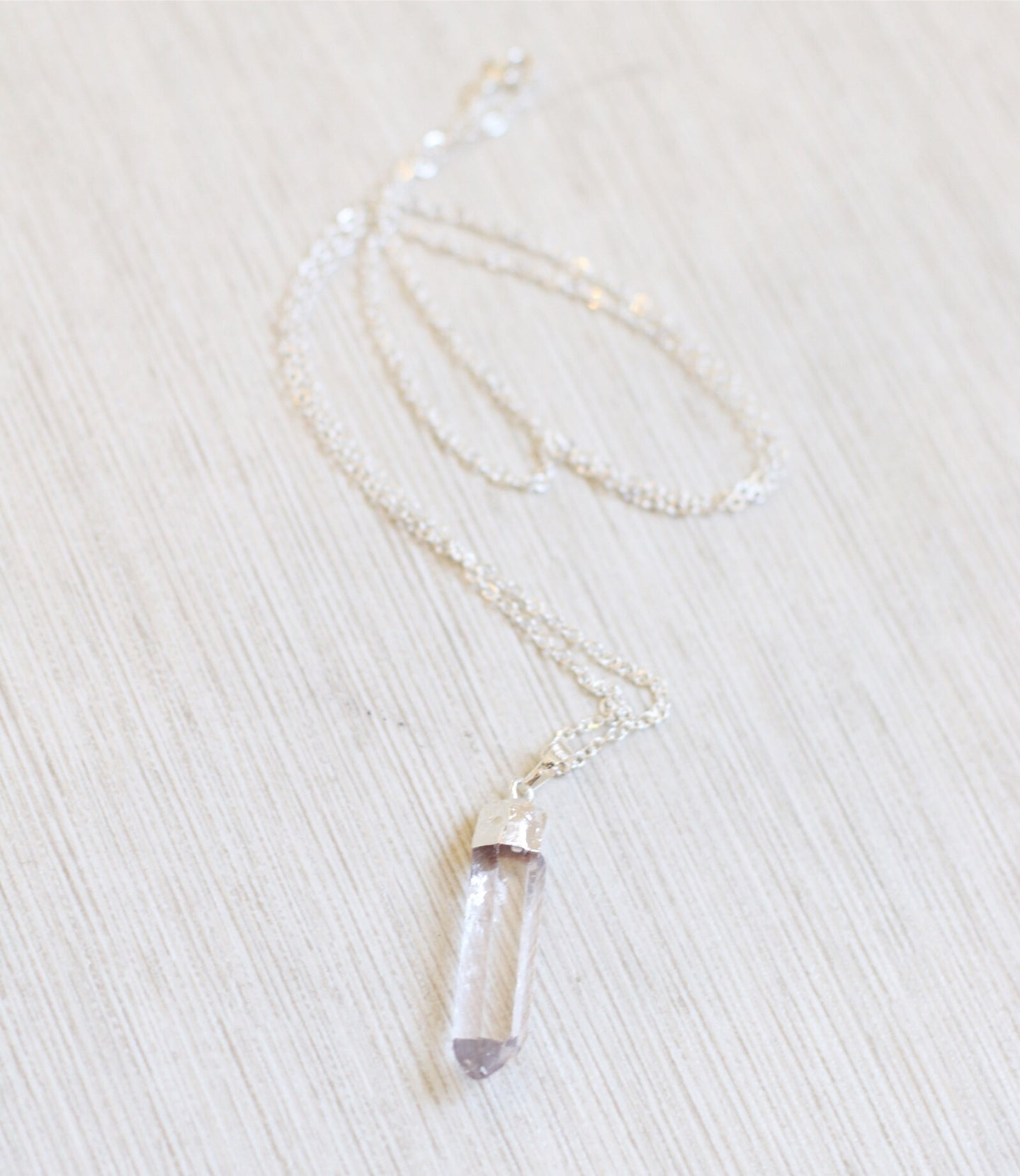 The Mimi Necklace // Silver