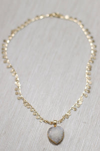 The Jasmine Necklace // White