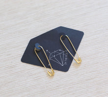 Load image into Gallery viewer, The Punk Pin-Up Earrings // Gold