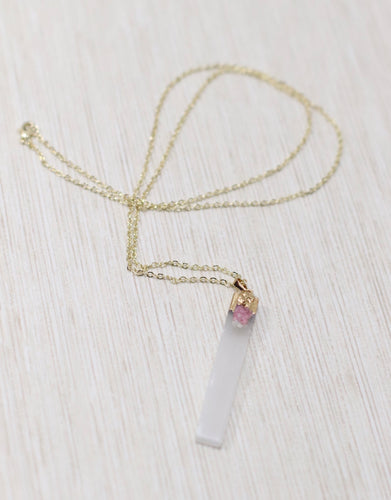 The White Light Wand Necklace