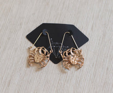 Load image into Gallery viewer, The Zodiac Earrings // Cancer