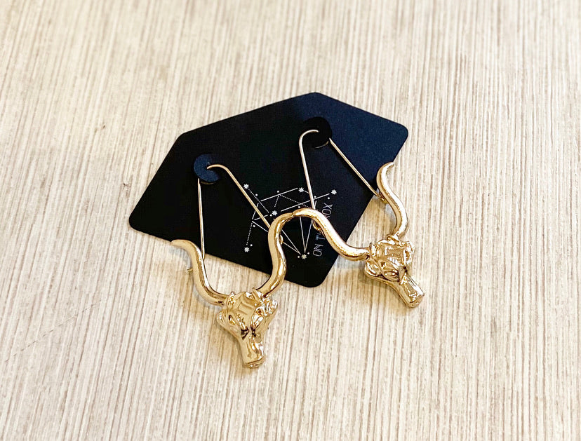 The Zodiac Earrings // Taurus
