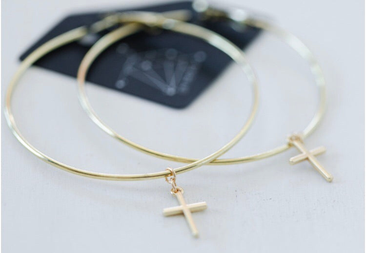 The Like a Virgin Earrings // Gold