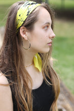 Load image into Gallery viewer, Boho Bandana // Neon Yellow