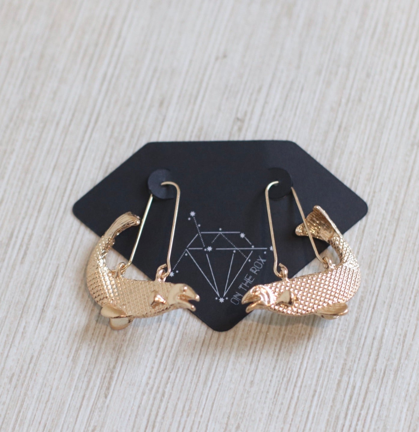 The Zodiac Earrings // Pisces
