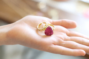 The Lil Magik Ring // Ruby