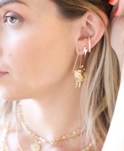 Load image into Gallery viewer, The Zodiac Earrings // Aquarius