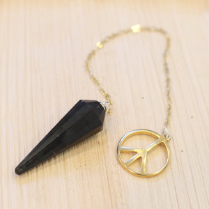 The OTR Pendulum // Black Tourmaline