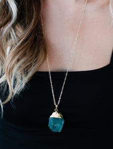 The Scout Necklace // GReen