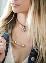 Load image into Gallery viewer, The Elouise Necklace // Rose Quartz