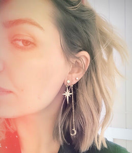 The Stellar Sky Earrings