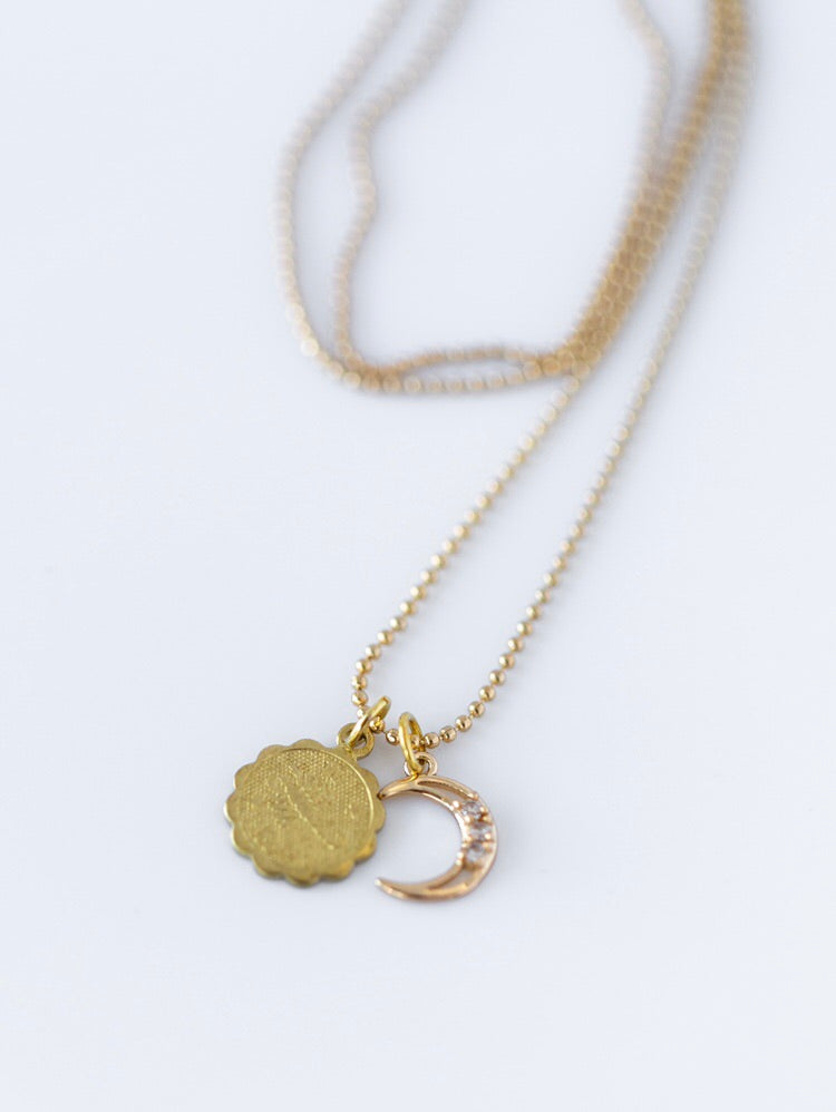 The CRescent Constellation Necklace
