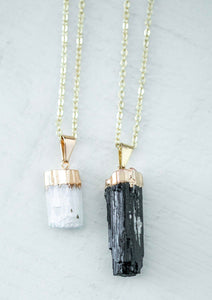 The DoRea Necklace // Selenite