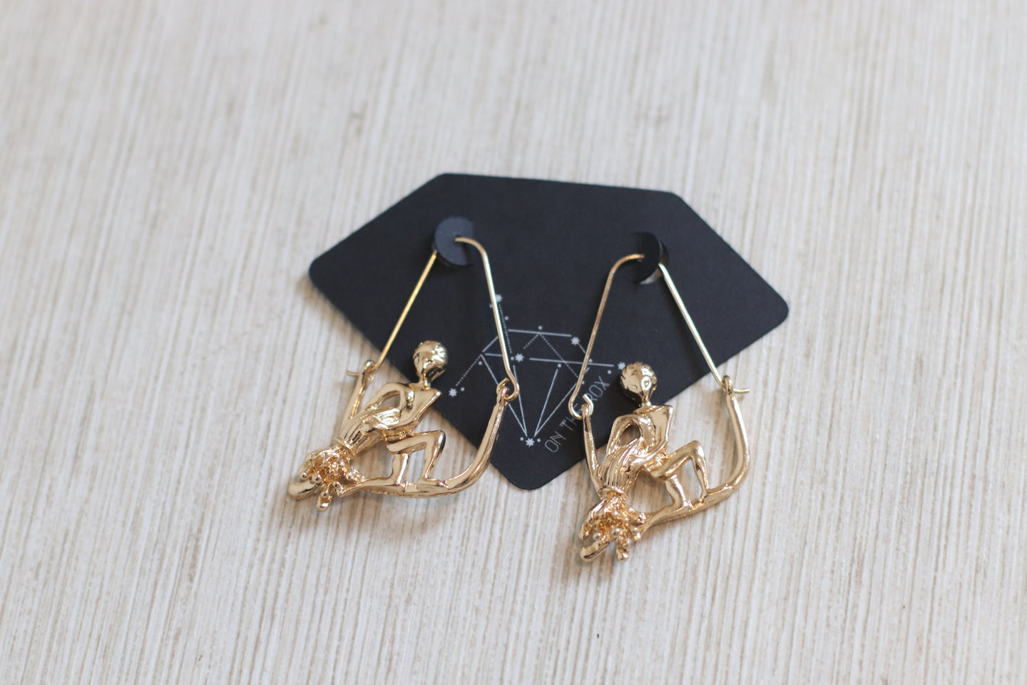 The Zodiac Earrings // Aquarius