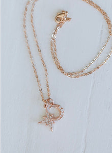 The Stellar Sky Necklace // Rose Gold