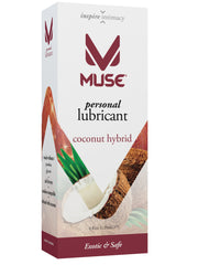 MUSE Silicone-Free Coconut Hybrid Personal Lubricant