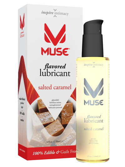 MUSE Salted Caramel Flavored Personal Lubricant