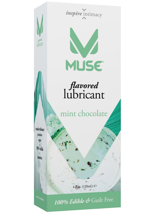 MUSE Mint Chocolate Flavored Personal Lubricant