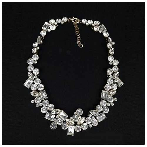 Hello Gorgeous! Diamond Crystal Statement Necklace