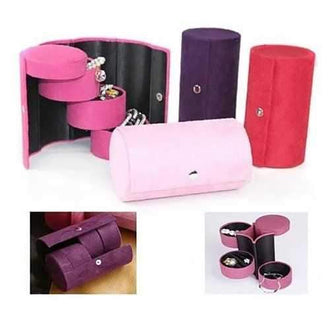 Jewel Roll for Travelers or Anyone - Your personal jewels neatly organized in easy to carry roller case