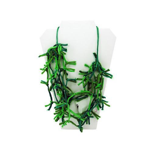 Green Knotted Necklace ( Case of 8 )