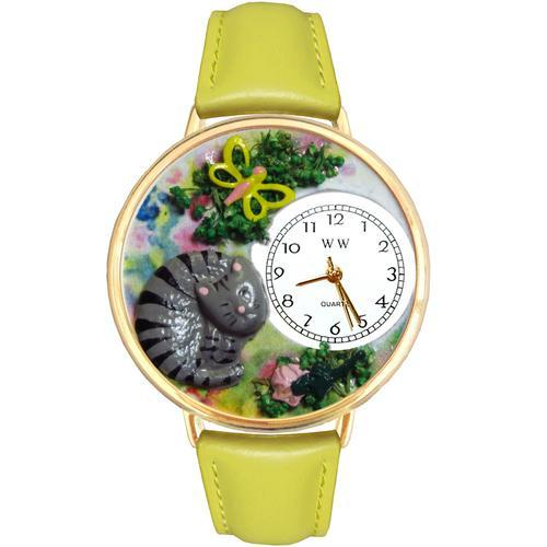 Cat Nap Watch in Gold (Large)