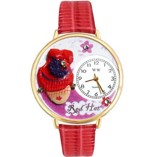 Red Hat Madam Watch in Gold (Large)