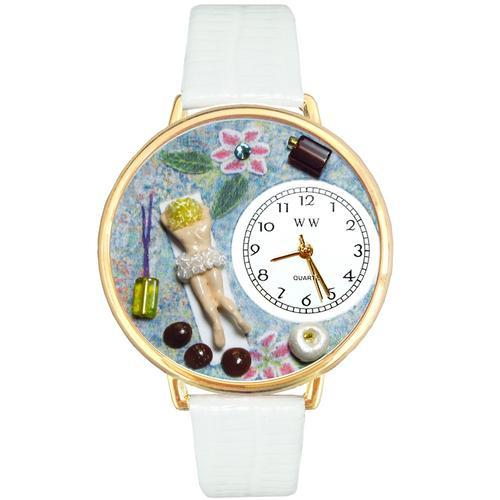 Massage Therapist Watch in Gold (Large)