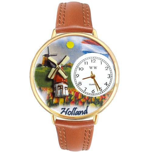 Holland Watch in Gold (Large)