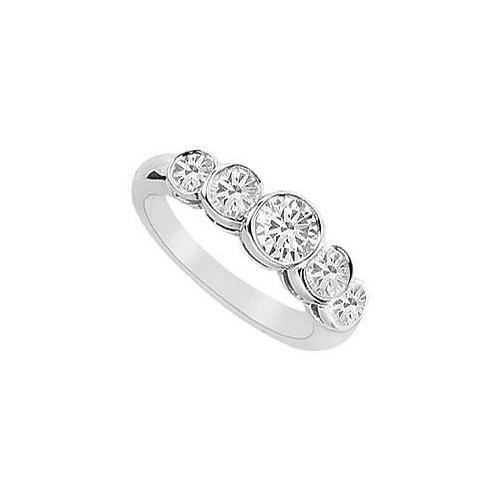 Diamond Ring : 14K White Gold - 1.10 CT Diamonds