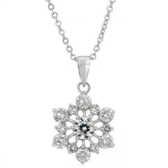 Snowflake Pendant (pack of 1 ea)