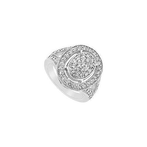Diamond Ring :14K White Gold - 1.00 CT Diamonds