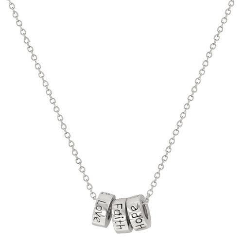 Faith Hope Love Necklace
