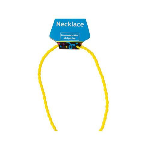 Yellow Twist Sport Necklace ( Case of 96 )
