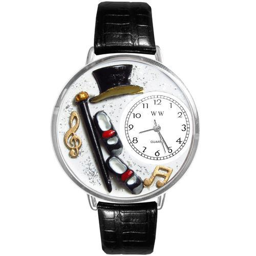 Tap Dancing Watch in Silver (Large)