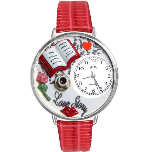 Love Story Watch in Silver (Large)