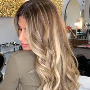 100% Lace wig-2019 New Fashion Brown Wave Wig - Maxky Design