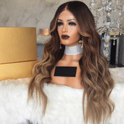 NEW Blond straight long wig - Maxky Design