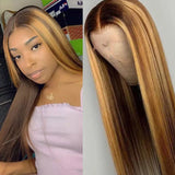 Highlight Colored Lace Front Wigs