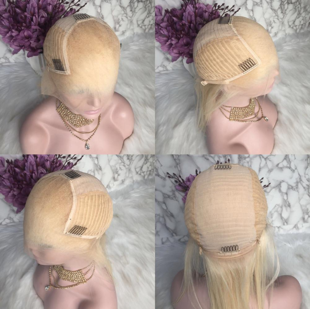 Blonde Straight #613 Transparent Lace Frontal Human Hair Wig | 100% Lace Front Wigs