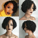 Lace Frontal Human Hair Wig Bob Water Wave Hair | 100% Lace Front Wigs