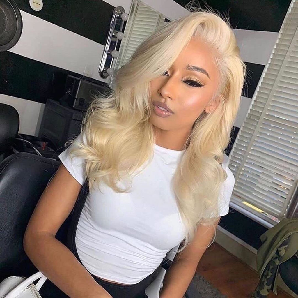Transparent Lace Frontal Human Hair Wig Body Wave | 100% Lace Front Wigs