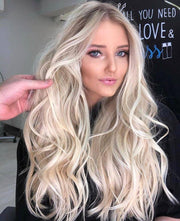 100% Lace Front Wig | 2020 hot milk white wig - Maxky Design