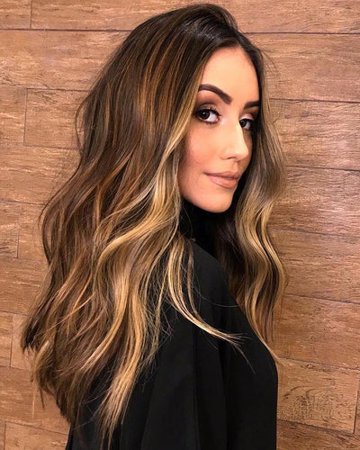 100% Lace wig-2019 brown hair 2 - Maxky Design