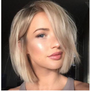 Gorgeous Blonde Fashion Bob Cut Hair Full Lace Front Wig | 100% Lace Front Wig - Maxky Design