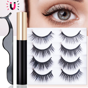 [ SALE ]Magnetic Eyeliner And Lashes Pack - Maxky Design