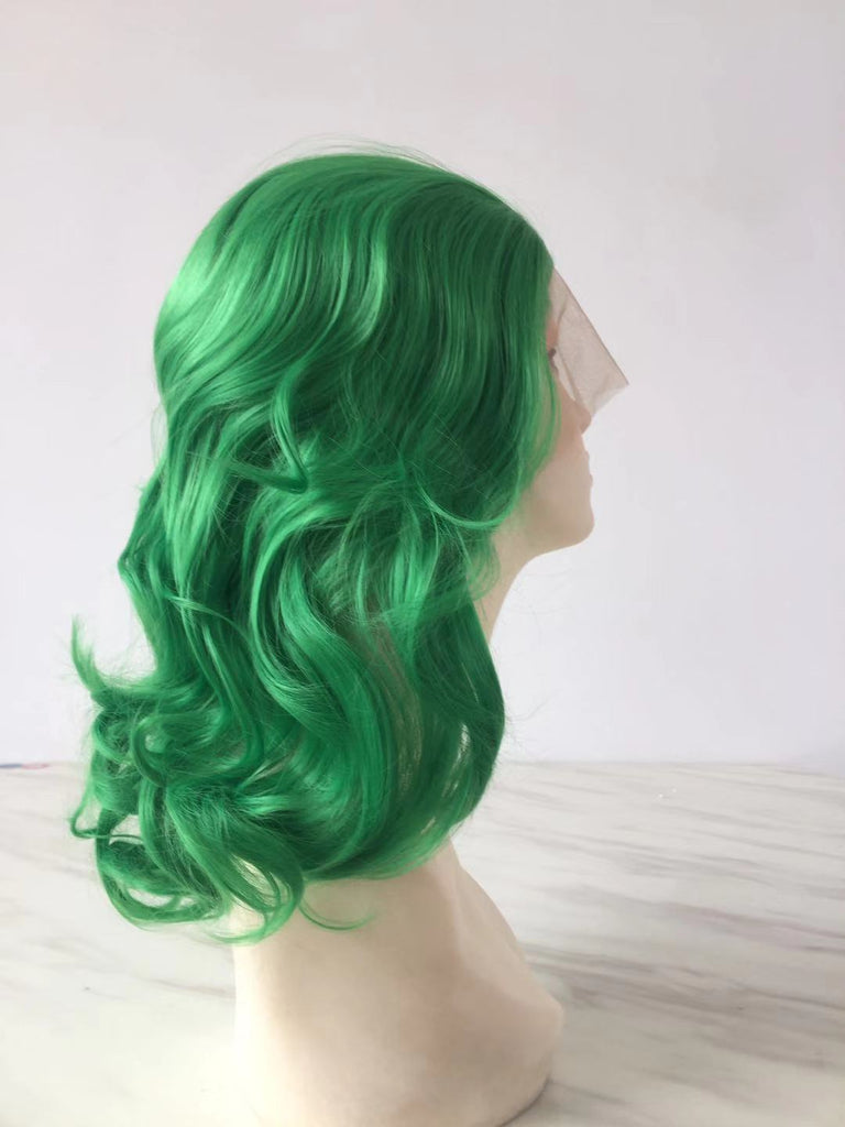 2020 New Green Wave Lace Front Wig | 100% Lace Front Wig - Maxky Design