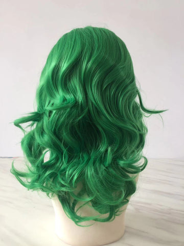 100% Lace Front Wig | 2020 New Green Wave Wig - Maxky Design