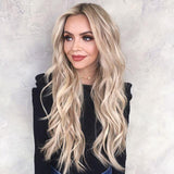 Vanilla Long Wave Hair Lace Front  | 100% Lace Front Wig - Maxky Design
