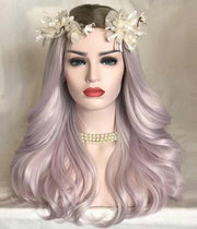 100% Lace Front Wig | Lilac Mist - Maxky Design